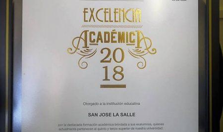 Excelencia Académica 2018 – USIL