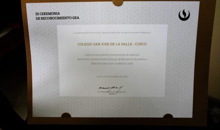Excelencia Académica 2018 – UPC